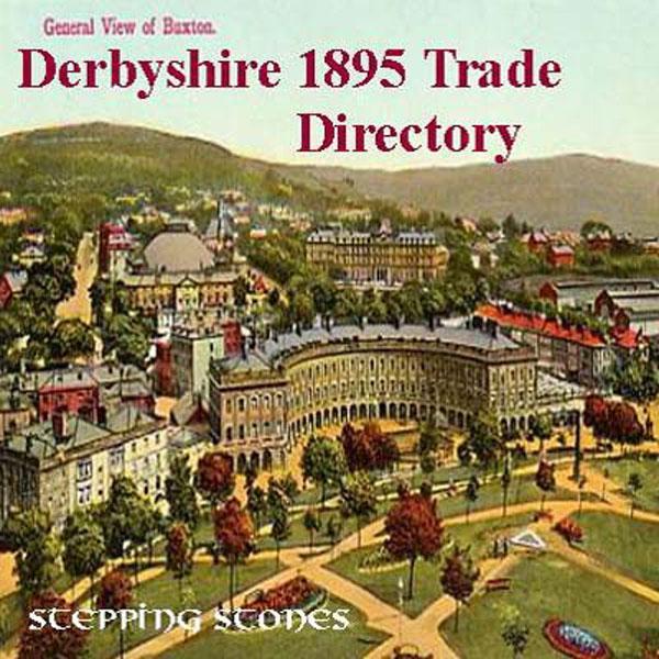 Trades Directory Trades: Derbyshire 1895 Trade Directory