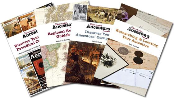 Save 60% on Discover Your Ancestors Books