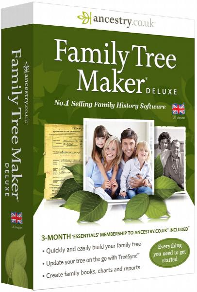 Family Tree Maker 2014 UK Deluxe Edition