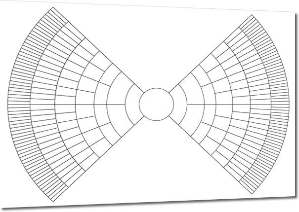 A2 Eight Generation Bow Tie Chart