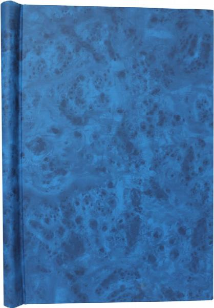 A4 Blue Deluxe Family History Springback Binder - Untitled