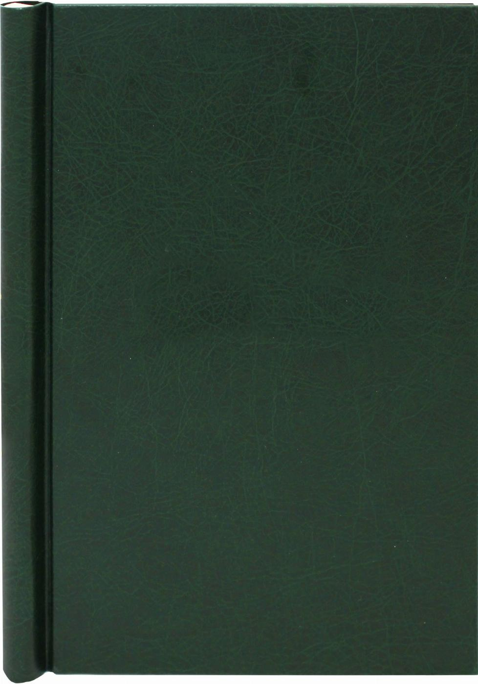 A4 Green Leather Effect Family History Springback Binder - Untitled