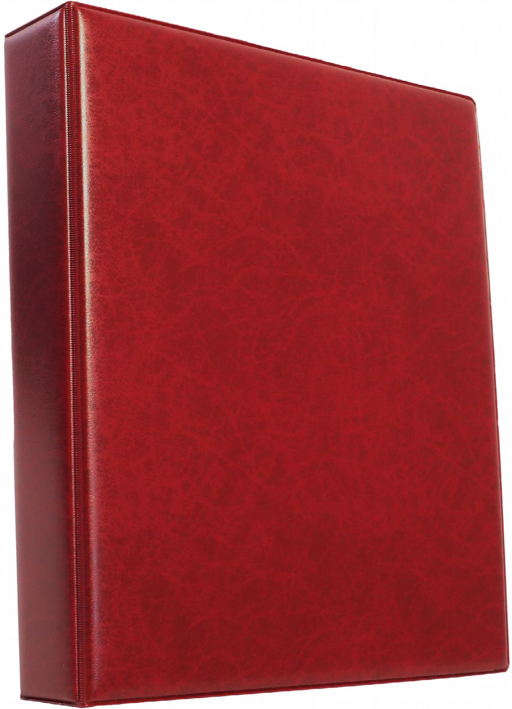 A4 Luxury Burgundy Family History Binder - Untitled