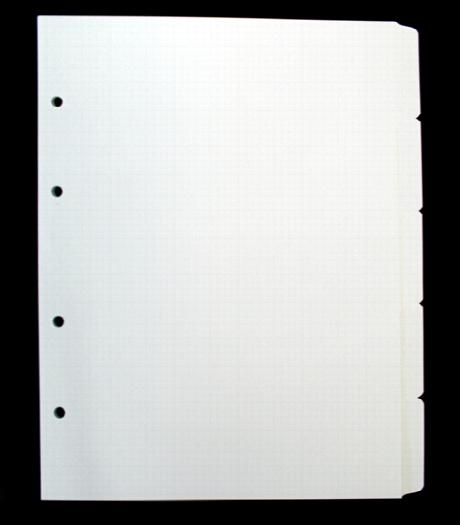 A4 Portrait Tabbed Dividers