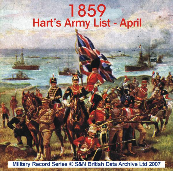 Army List 1859 - April (Hart's)
