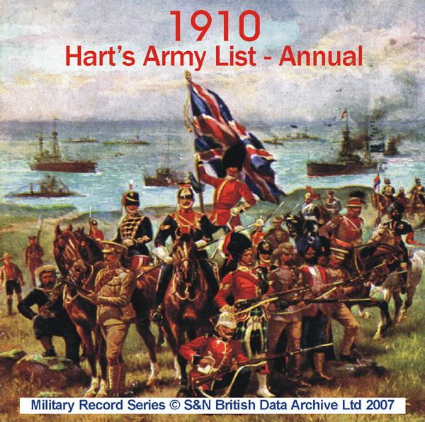 Army List 1910 - Annual (Hart's)
