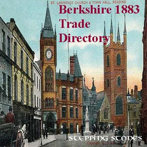 Berkshire 1883 Trade & Court Directory