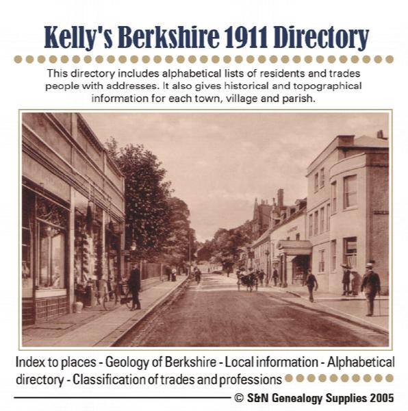 Berkshire, 1911 Kelly's Directory