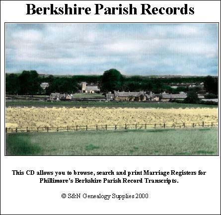 Berkshire Phillimore Parish Records (Marriages) Volume 02
