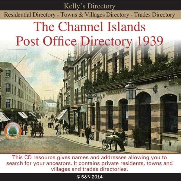 The Channel Islands Post Office Directory 1939