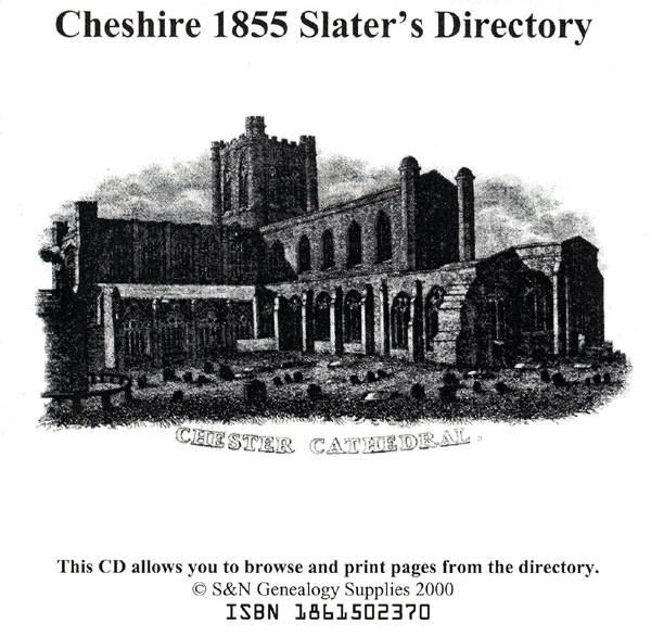 Cheshire 1855 Slater's Directory