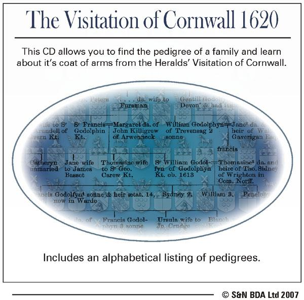 Cornwall Visitation 1620