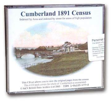 Cumberland 1891 Census