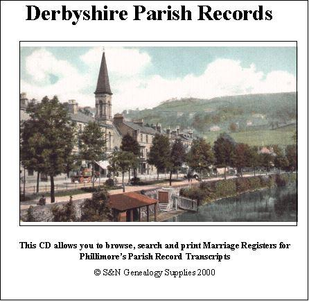 Derbyshire Phillimore Parish Records (Marriages) Volume 02