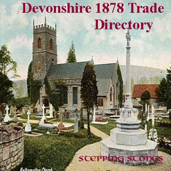 Devonshire 1878 Trade Directory