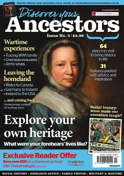 Discover Your Ancestors Magazine Issue 3