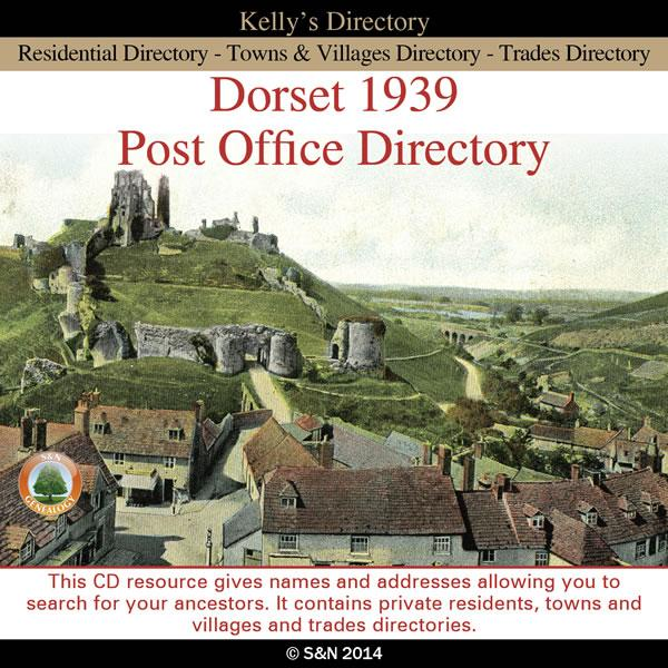 Dorset 1939 Post Office Directory