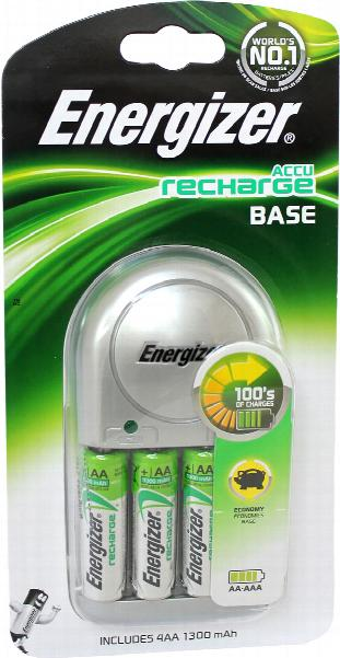 Energizer Battery Charger Accu Recharge Base (Economy Charger for AA and AAA NiMH Batteries)