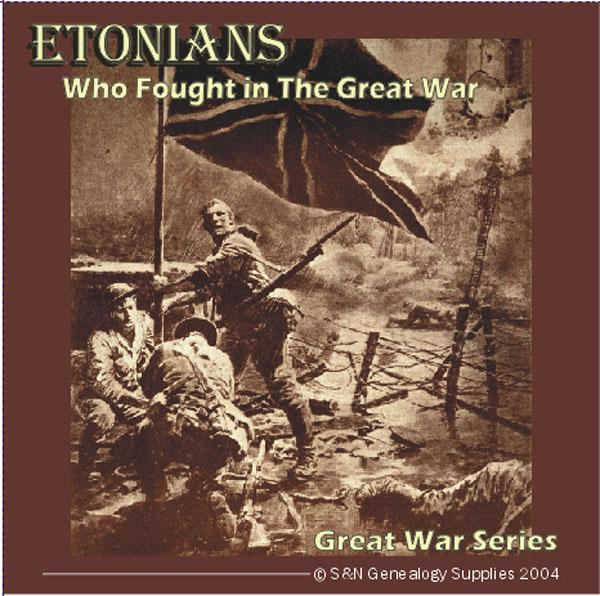 Etonians Who Fought In The Great War