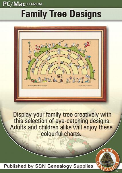 Family Tree Design CD