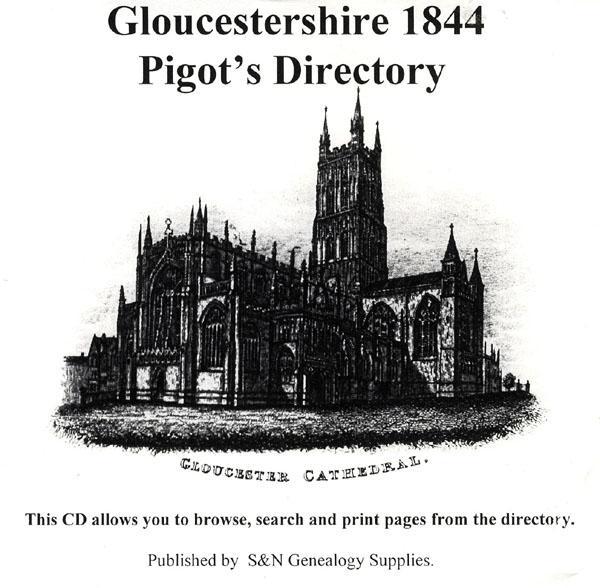 Gloucestershire 1844 Pigot's Directory