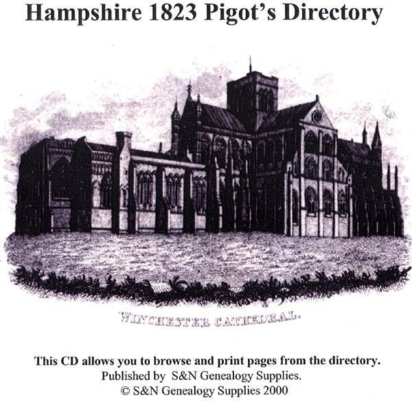 Hampshire 1823 Pigot's Directory