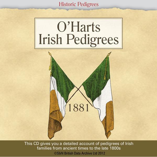 Ireland, O'Harts Irish Pedigrees 1881