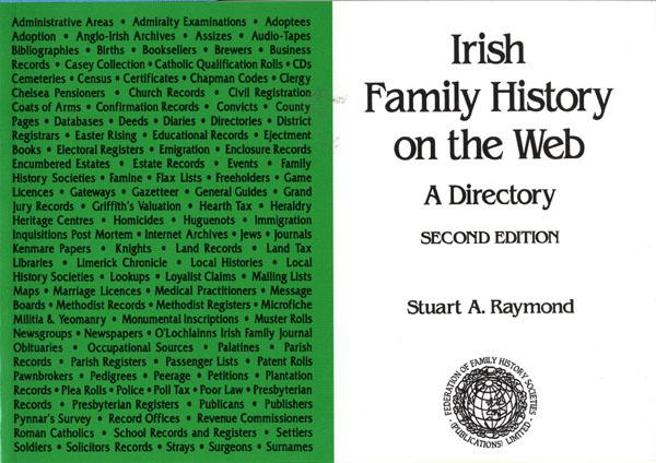 Irish Family History on the Web - Third Edition   **TEMPORARILY OUT OF STOCK**