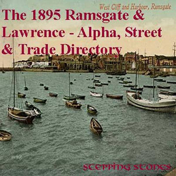 Kent, Ramsgate & Lawrence 1895 Street & Trade Directory