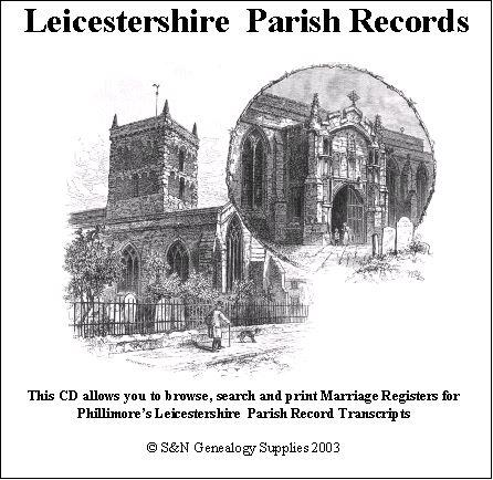 Leicestershire Phillimore Parish Records (Marriages) Volume 09