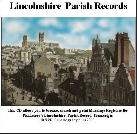 Lincolnshire Phillimore Parish Records (Marriages) Volume 11