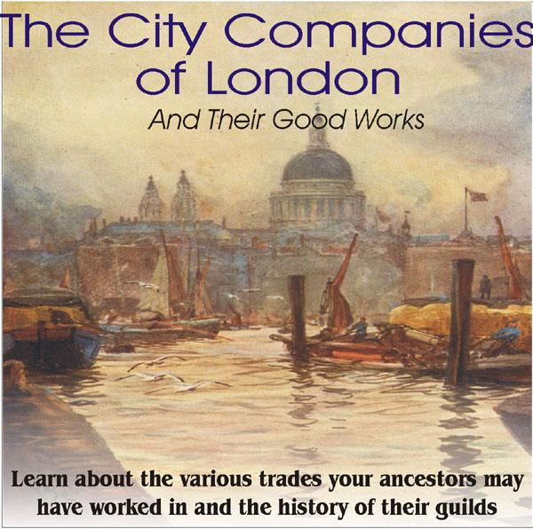 London, The City  Companies Of London - And Their Good Works