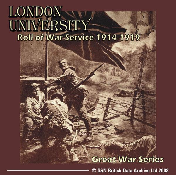 London University Roll of War Service 1914-1919