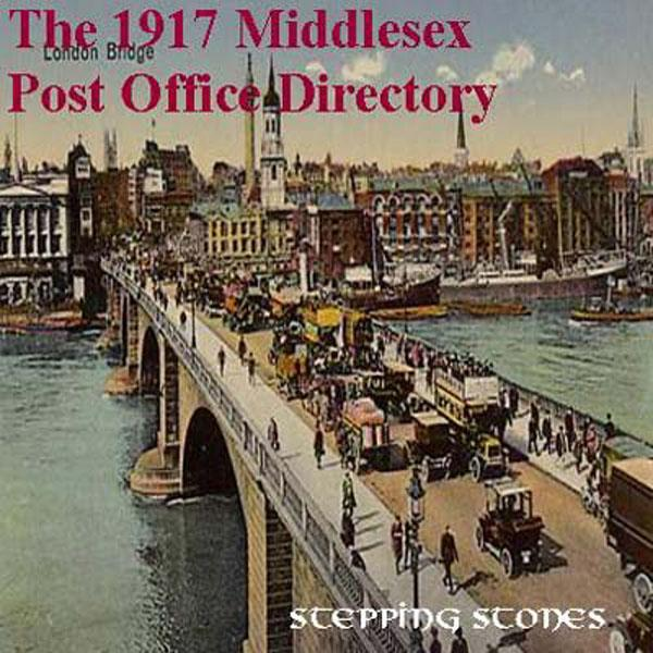 Middlesex 1917 Post Office Directory
