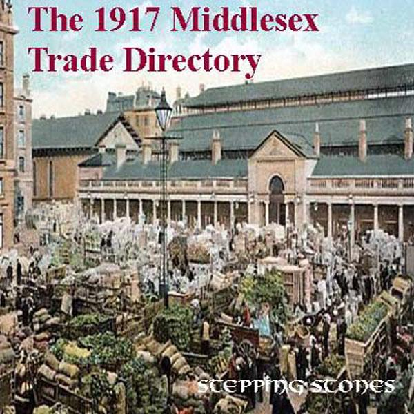 Middlesex 1917 Trade Directory