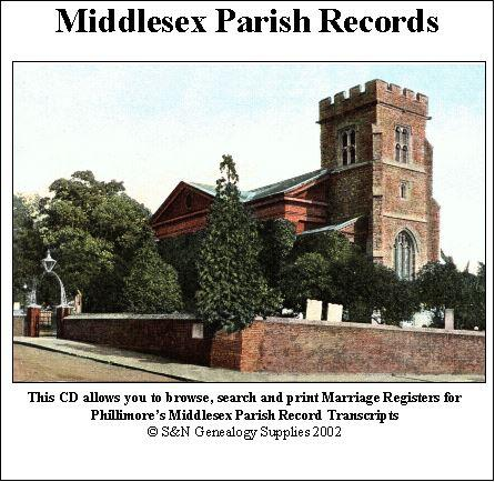 Middlesex Phillimore Parish Records (Marriages) Volume 08