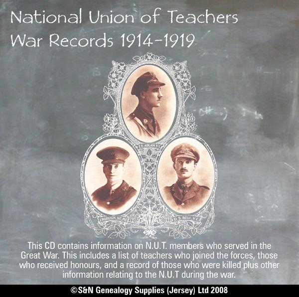 National Union of Teachers War Records 1914-1919
