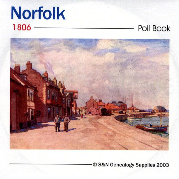 Norfolk 1806 Poll Book