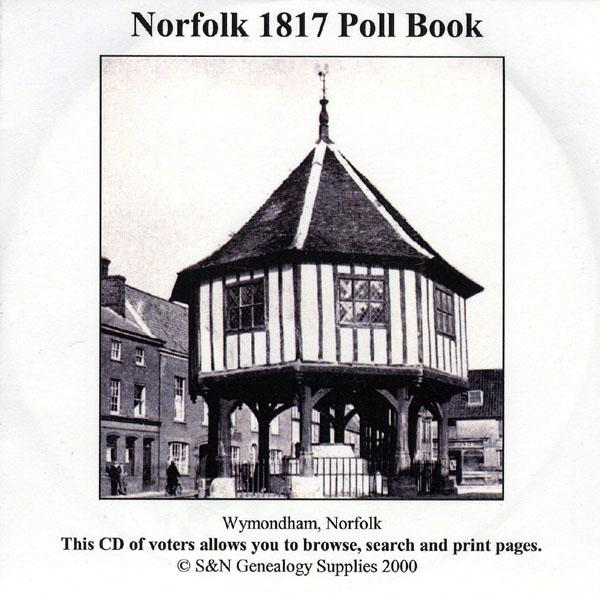 Norfolk 1817 Poll Book