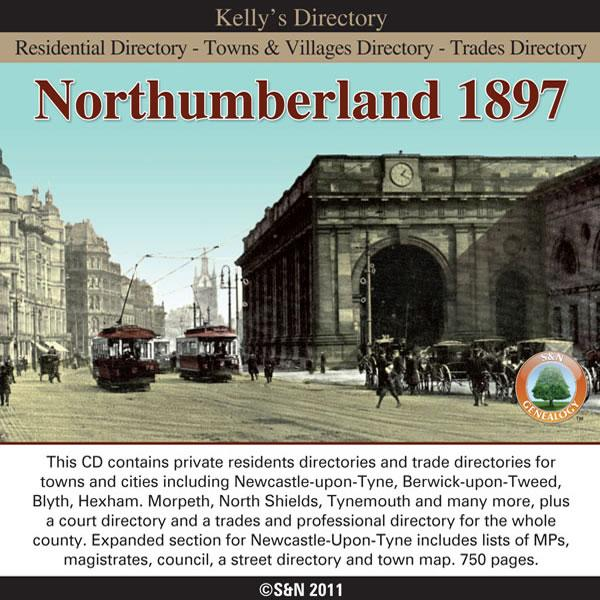 Northumberland, Kelly's 1897 Directory