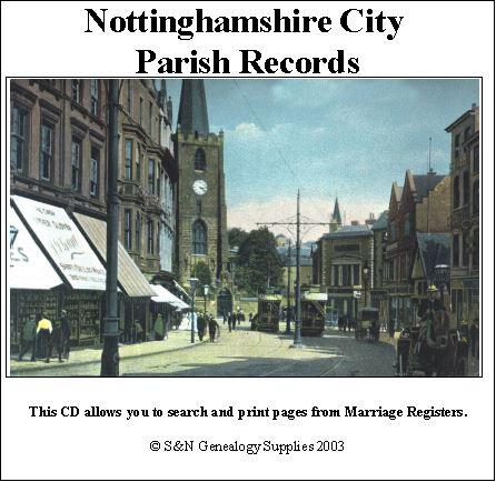 Nottingham City Phillimore Parish Records  (Marriages) - Volume 1 St Mary's 1566-1763