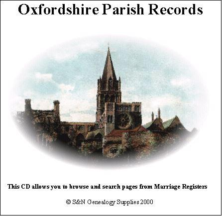 Oxfordshire Phillimore Parish Records (Marriages) Volume 2