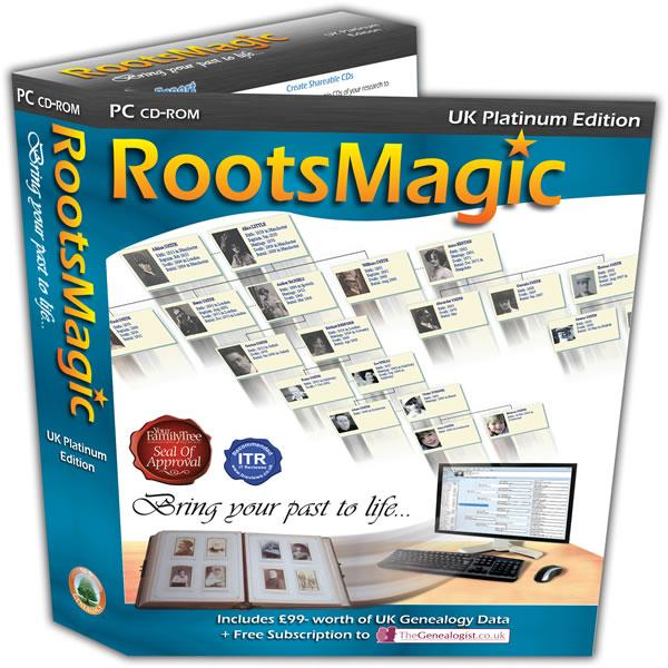 RootsMagic UK Version 6 Platinum Edition