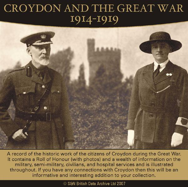 Surrey, Croydon and the Great War 1914-1919