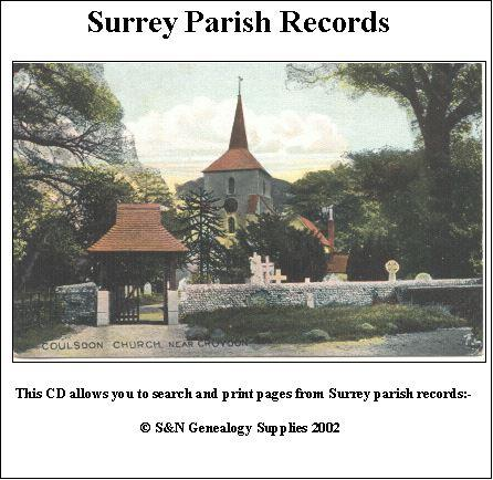 Surrey Parish Records  Volume 04 - Farleigh, Tatsfield, Wanborough and Woldingham