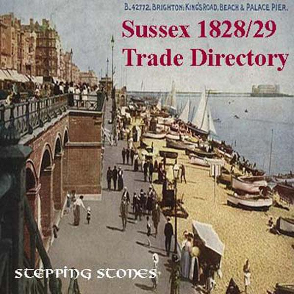 Sussex 1828-29 Trade Directory