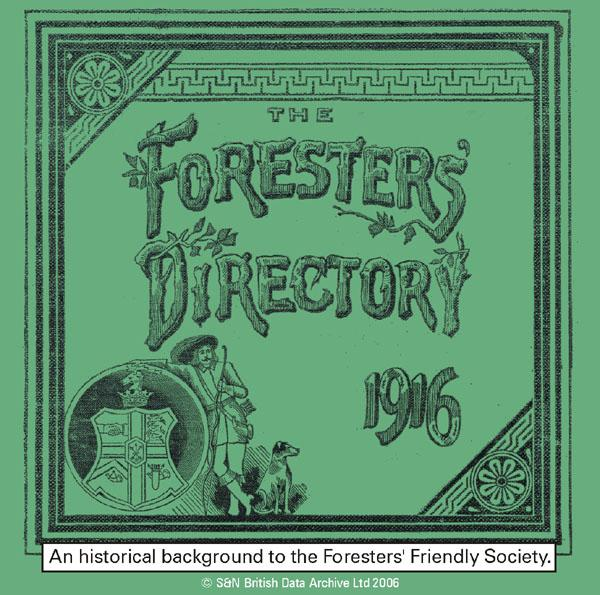 The Foresters' Directory 1916