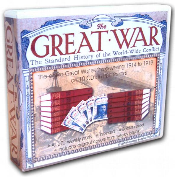 The Great War - The Standard History of the World-Wide Conflict - 272 issues on 10 CDs