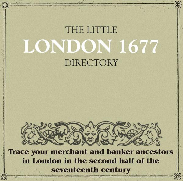 The Little London 1677 Directory