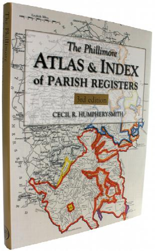 The Phillimore Atlas and Index of Parish Registers - Hardback Book (Heavy Item)